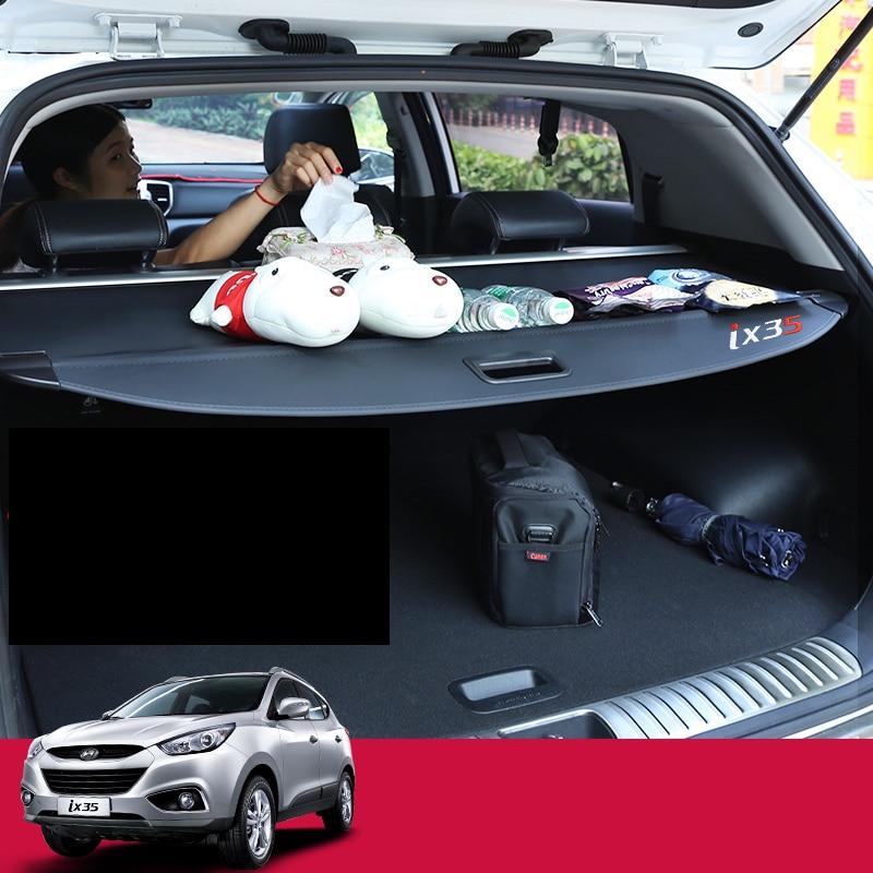 Lsrtw2017 coffre de voiture couverture de rideau pour hyundai ix35 Tucson ix tucson ix35 2009 2010 2011 2012 2013 2014 2015