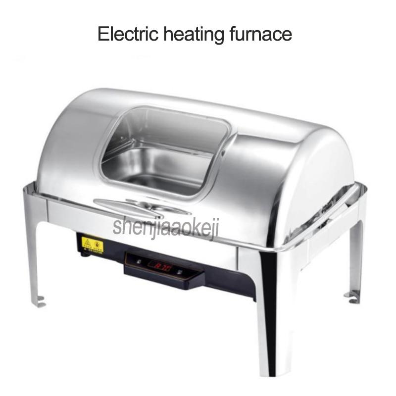 Totalmente flip-tipo comercial restaurante Do Hotel Buffay buffet fogão forno de aquecimento Elétrico forno de aquecimento 220 v/110 v 500 w 1 pc
