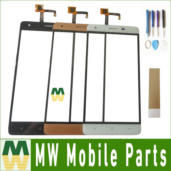 1 Teil/los Hohe Qualität Schwarz Weiß Gold Farbe Für Oukitel K6000 Pro Touchscreen Touch Digitizer Ersatzteil 5,5 Zoll