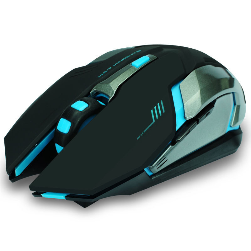 2.4GHz Wireless Rechargeable LED Backlit USB Optical Ergonomic Silent Gaming Mouse Gamer