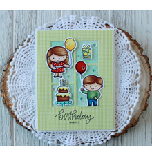 Birthday Wishes Clear Silicone Stamp DIY Scrapbooking Card Album Making Background Craft Handmade Decoration Template