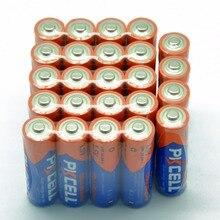 24 x PKCELL AA 배터리 LR6 1.5V AA 알카라인 배터리 E91 AM3 MN1500 건전지 기본 2A Baterias Bateria 배터리 완구 용