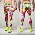 Compresión Hombres Largos Pantalones Culturismo Compresión Leggings Mens Joggers Compressionpants Hombre Flaco Apretado