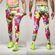 штаны Men Pants Mid Compression Camouflage