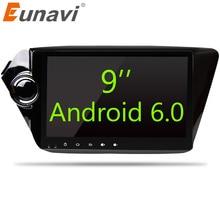 Eunavi Quad core 2 din Android 6.0 Autoradio gps-navigation für Kia rio k2 2010 2011 2012 in dash lenkradsteuerung wifi BT