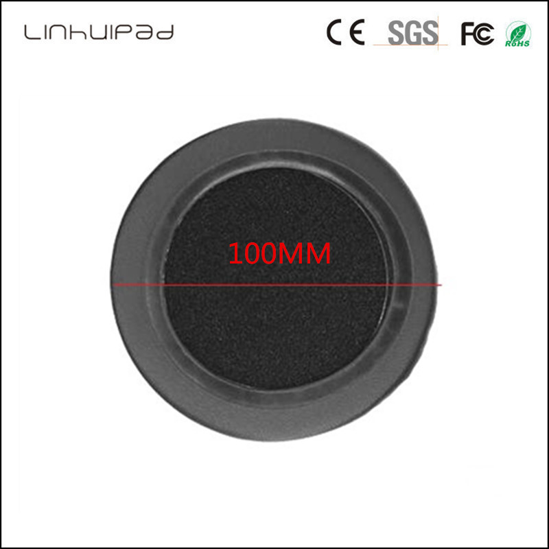 Linhuipad 100mm Protein Leather Earpad Replacement Ear Pads Cushion for Beyerdynamic DT440 DT660 DT770 DT880 DT880PRO Headphones