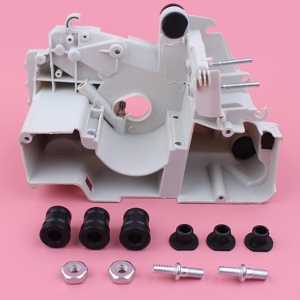 Crankcase Crank Case AV Buffer Mount Bar Stud Nut Kit For Stihl MS180 MS170 018 017 MS 180 170 Chainsaw Replace Part бензопила stihl ms 180 14
