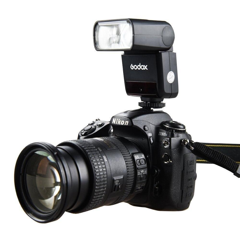 Uus saabumine Godox TT350N Speedlite 2.4G HSS 1 / 8000s TTL GN36 - Kaamera ja foto - Foto 6