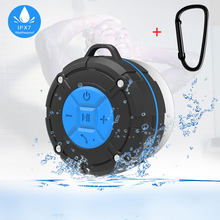 Portable Bluetooth Speaker Waterproof Ipx7 Shower Mini Wireless Bluetooth Speakers for Phone PC Bicycle Outdoor With Suction Cup(China)