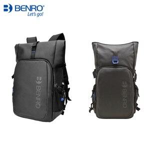 Image 5 - Benro incognito mochila dslr, bolsa de vídeo notebook, câmera de grande tamanho, macia, estojo de vídeo, capa de chuva