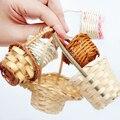 Ребенок с БЖД аксессуары мини ручной маленькие бамбуковые корзины ротанга корзины BJD реквизит