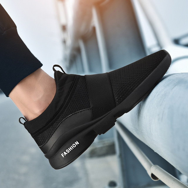 Men Shoes Sneakers Breathable Tenis Masculino Light Weight Footwear Krasovki  Slip On Male shoes Adulto Zapatos 4ccaf5ab507