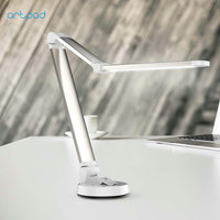 ArtPad 5W Folding Sucker LED Table Lamp With 3 Grade Brightness Touch Dimmer Intelligent Eye Desk