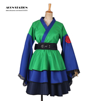 2016 Anime Product Top Selling Naruto Shippuden Hatake Kakashi Konoha Ninja Female Lolita Kimono Dress Anime