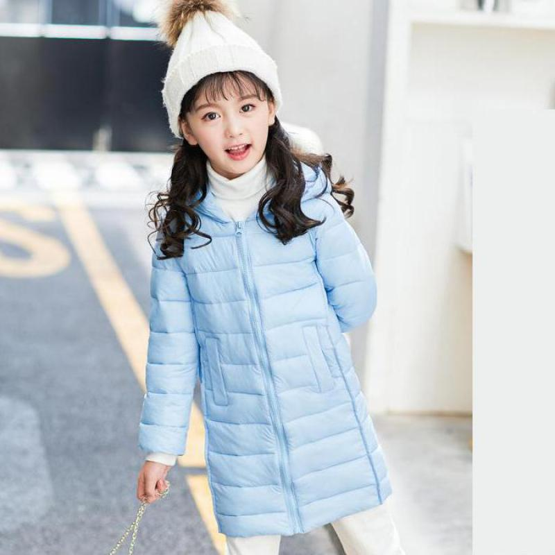 2018 Girls Children Wadded Jacket Outerwear Cotton Padded Jacket Children's Clothing Winter Warm Girls Coat Snowsuits 10 12 Year double breasted cotton padded jacket stand collar middle aged mother quilted coat plus size women winter wadded outerwear xh499
