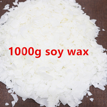 1000g/pack Candle Raw Material Soy Wax Flake Candle Wax Smok