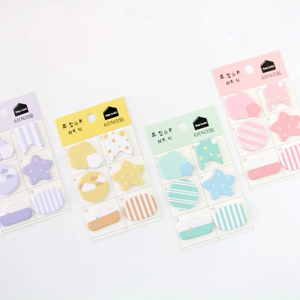 4 Pcs/lot Memo Pads Cute Kawaii Drop Drip Planner Stickers Stationery Sticky Duck Notes Post It Memo Pads Office Supplies Gift