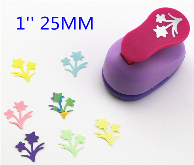 Free Ship 1 Daffodils Paper Cutter Scrapbooking Punches Paper