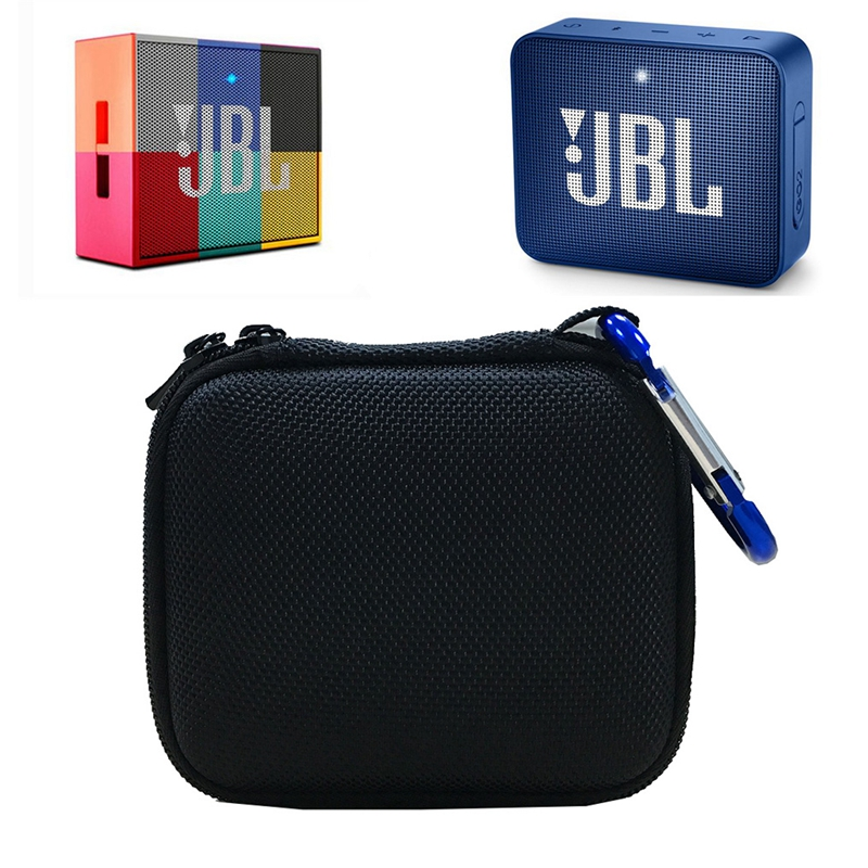 Hard EVA Carry Bag Case Cover for JBL Go 1 2 Bluetooth Speaker Mesh Pocket for Charger and Cables in Speaker Accessories from Consumer Electronics