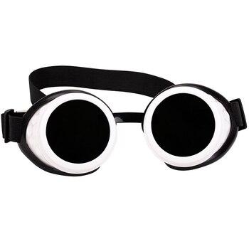 ff65d1c64d FLORATA gafas Steampunk gafas Vintage Retro de soldadura Punk gótico gafas  de sol 2018 moda Retro punk de vapor gafas de sol