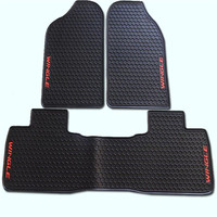 Thick Latex Rubber Floor Carpets Special Trunk Mats Case For New Great Wall Hover H6 Hover