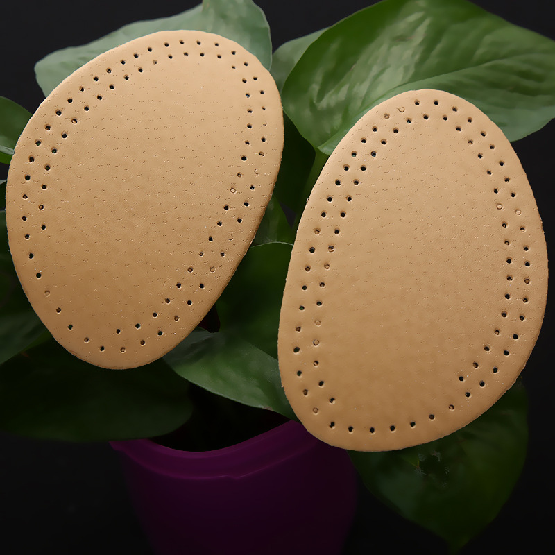 2Pair High-heeled Shoes Forefoot Pad leather Cushion Pad Orthotic Insole Half Yard Pad Foot Care Tools Metatarsal Toe Support