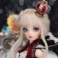 Moe oueneifs 1/4 chloe fairyland minifee menino menina corpo bjd sd boneca modelo de olho reborn toys resina maquiagem de alta qualidade