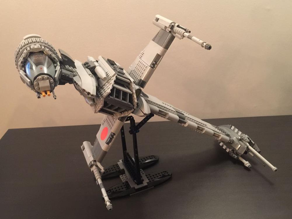 05045 New 1487Pcs Genuine Star Wars Series The B-wing Starfighter Building Blocks Bricks Educational Toys 10227 lepin
