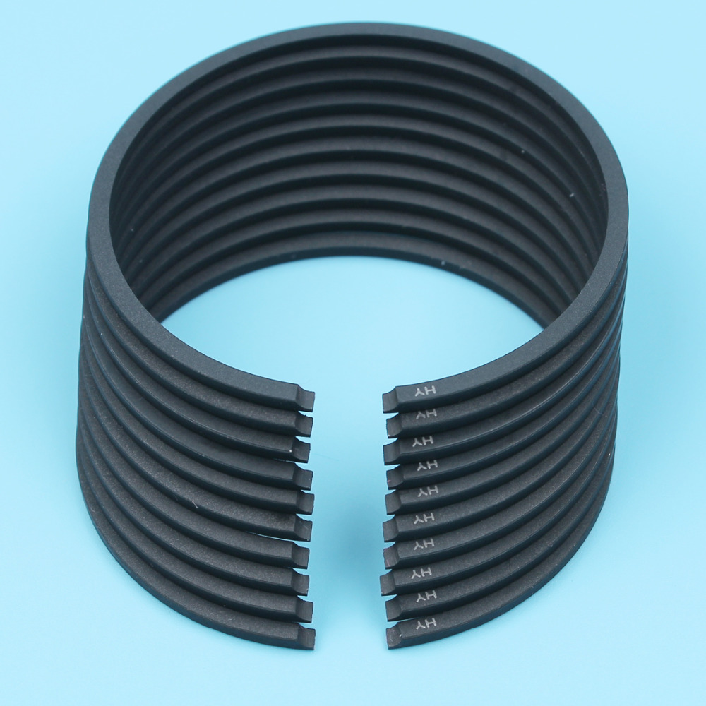 Piston Rings 46mm X 1.5mm For Husqvarna 357 357XP 359 257 51 55 Rancher EU1 Chainsaw 503289014,503289028 10Pcs/lot