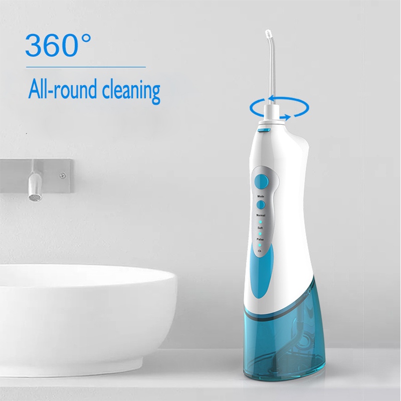 Electric mouthwash water floss rechargeable portable water floss electric tooth washing red teeth 1