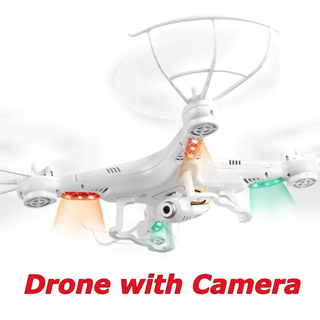 Drone con Cámara HD RC Drone X5C-1 Mejorado 2.4G 4CH 6-Axis de vídeo de control remoto quadcopter helicóptero rc toys vs x5c x5 fswb