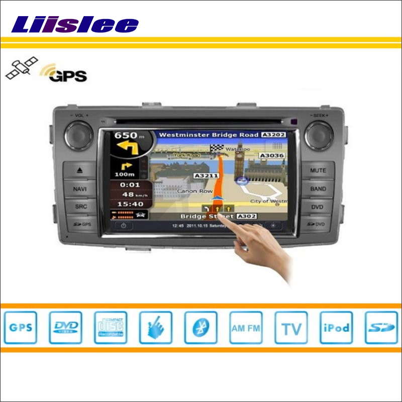 Liislee For Toyota Hilux SW4 2013~2015 GPS Satellite Nav Map Navigation Radio CD DVD Player TV HD Touch Screen Multimedia System