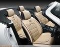 Para NISSAN X-TRAIL QASHQAI Altima Murano negro resistentes al desgaste impermeable de cuero asientos Delanteros y Trasero del coche cubiertas completas de coche
