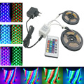 RIRI Won 10M 5M RGB LED Strip Light SMD 3528/2835 Non Waterproof  LED RGB Tape Ribbon Flexible Light 5M RGB Strip Lamp