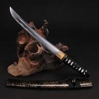 Japanese TANTO SWORDS Handmade 1060 High Carbon Steel Samurai Sword Full tang blade short Katana Collecation Sword