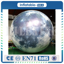 3m Diameter inflatable moon/Artificial moon/simulation moon with LED light for Sale