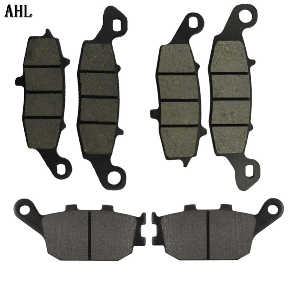 цены  Motorcycle Front and Rear Brake Pads for Suzuki SV650 DL650 2004-2011 V-strom 1000 DL1000 2002-2011 SV400