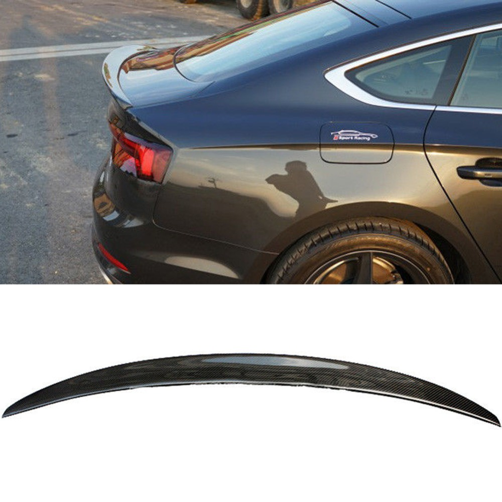 Carbon Fiber Spoiler Boot Duck Wing For Audi A5 S5