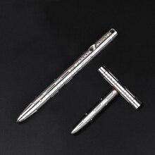 Multifunktionale Edelstahl Variable T Geformte Stift Notfall Hammer selbstverteidigung Taktik EDC Outdoor Schreiben Stift