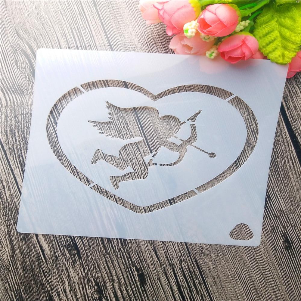 Cupid arrows love Handbook Scrapbook DIY Album Card Tool Spray ...