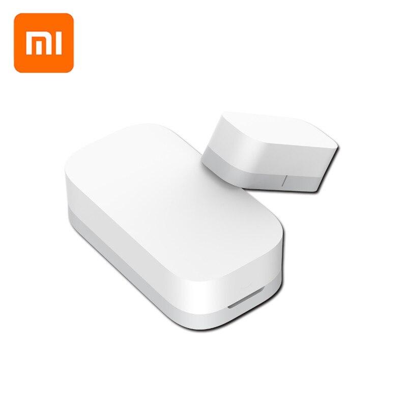 Xiaomi AQara ventana inteligente Sensor de puerta inalámbrica ZigBee conexión Multi-propósito trabajar con Xiaomi casa inteligente mi jia/ mi casa app
