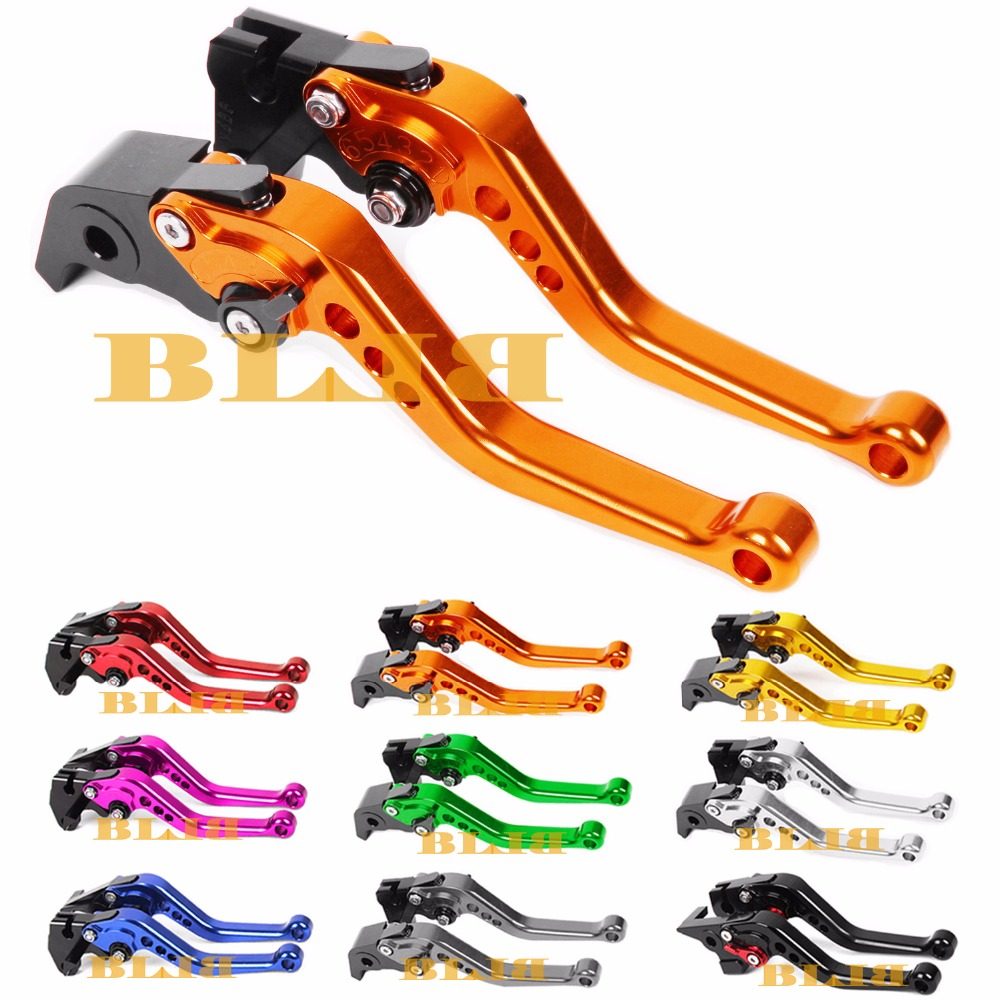 For KTM 690 SMC SMC-R Duke Duke R 640 LC4 Supermoto 640 Duke II Motorcycle Long & Short Brake Clutch Levers CNC Shortly Lever motorbike brakes lever cnc adjustable foldable lengthening brake clutch levers for ktm duke 125 125duke duke 390 2013 2017