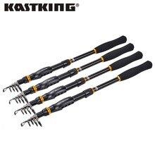KastKing High Carbon Saltwater Telescopic Fishing Rod Superhard Rod Carbon 1.8M-3.6M Fishing Rod Spinning Fishing Pole