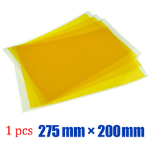 10 sheets* 275mm x 200mm PET Tape Hi-Temp Adhesive PCB Gold Plating