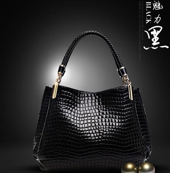 Black-2014-Fashion-Genuine-Leather-Bag-Cowhide-Women-s-Tassel-Bag-Shoulder-Bag-Vintage-Handbag-3-Colors