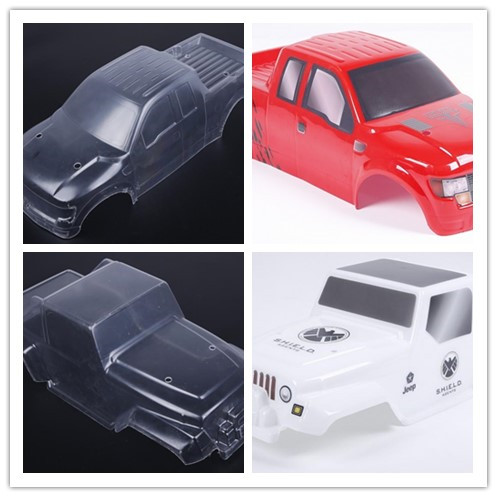 Colorful PC body shell (Pickup and jeep truck) 1/8 HPI Racing Savage XL FLUX Rovan TORLAND MONSTER BRUSHLESS TRUCK Rc Car PARTS