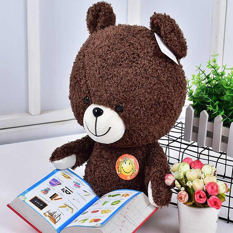 Обнимишка плюшевая игрушка кукла плюшевый мишка милый мех Медведь кукла девочка Подушка детский подарок на день рождения креативные милые мягкие украшения для дома