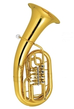 Bb Euphonium 4 rotary Valves Yellow Brass bombardino horn Lacquer Finish with ABS case Musical instruments Professional все цены