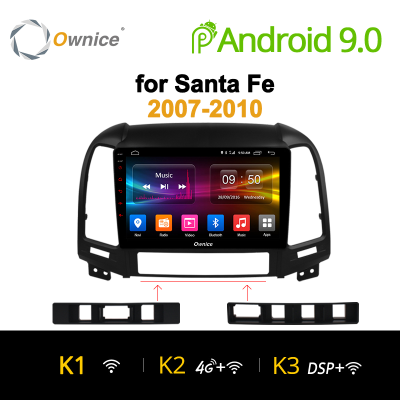 Ownice K1 K2 Octa Core Android 9.0 2 din car radio for Hyundai Santa Fe 3 IX25 Creat IX45 auto Navigation gps player