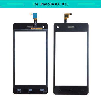 Tested 20pcs/lot Touch Panel For Bmobile AX1035 Touch Screen Glass Digitizer Sensor Replacement Free Shipping